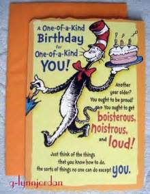 free printable birthday cards hallmark dr seuss one of a birthday greeting card