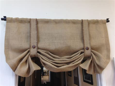 Ideas Design For Burlap L Shades Decorations Burlap Window Shade Burlap Window Treatments Diy Window Valance Ideas