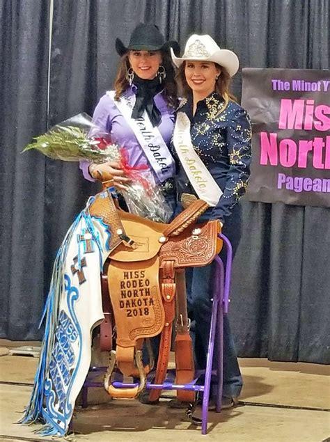 zeelands hope ebel crowned  rodeo north dakota