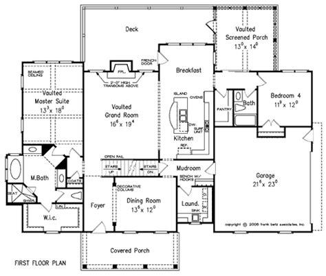 country highlands floor plans highland place house floor plan frank betz associates