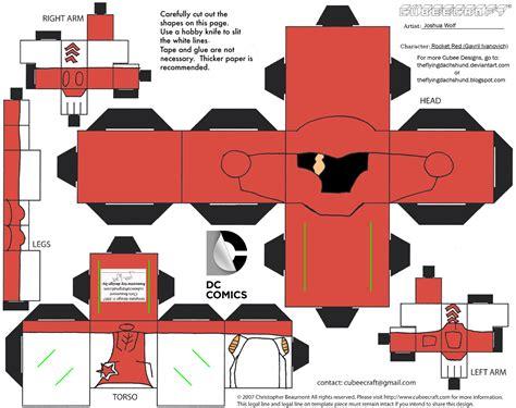 Rocket Papercraft - dcnu11 rocket cubee by theflyingdachshund on deviantart