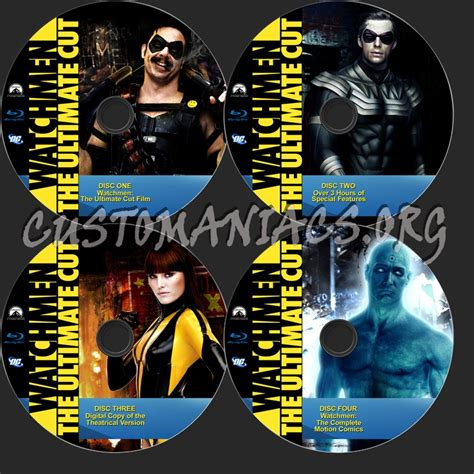 Watchmen The Ultimate Cut Dvd watchmen the ultimate cut label dvd covers labels by customaniacs id 77540 free