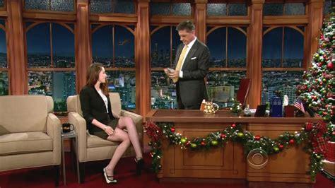 You To The Late Show With Craig Ferguson Tonight 2 by Kristen Stewart At The Late Late Show With Craig Ferguson