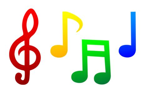 google images music notes coloured single music notes google search lir