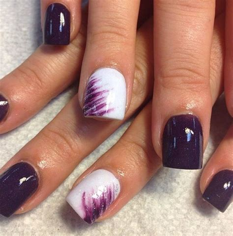purple pattern nails best 20 acrylic nail designs ideas on pinterest