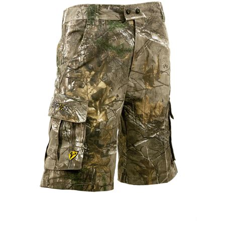camo shorts scentblocker 174 recon lifestyle camo cargo shorts realtree