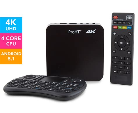 Tv Box Android Sunbio proht 4k smart android tv box black great daily deals