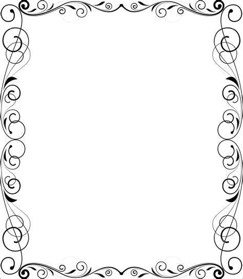 Flourish Frame Outline by Flourish Frame