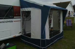 bradcot portico caravan porch awning grey blue 163 50 00