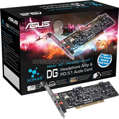 5 1 Sound Card asus xonar dg 5 1 pci sound card with built i ocuk