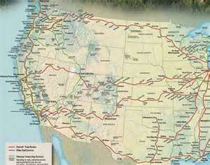 amtrak california zephyr map california map