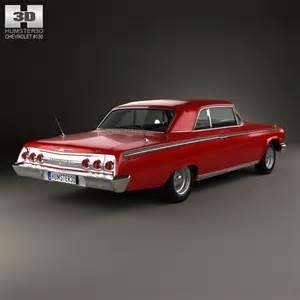 1962 Chevrolet Models Chevrolet Impala Ss 409 1962 3d Model Humster3d