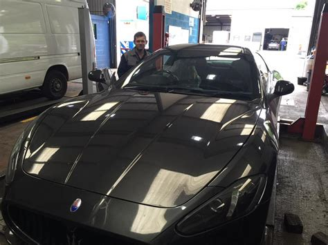 maserati garage mot maserati stockport manchester fleetcare maintennace