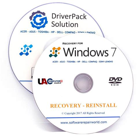 asus recovery dvd disk  windows   bit pc computer