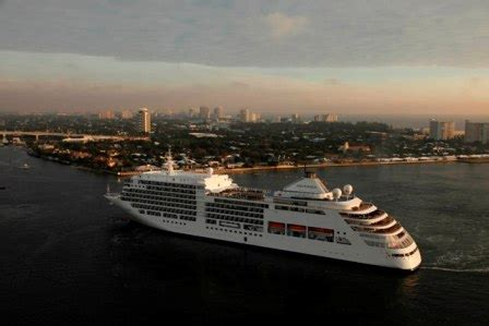 silversea cruises president highly polished silver spirit expertcruiser