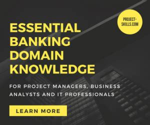 essential bank domain knowledge   professionals