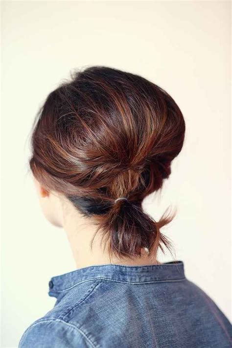short hairstyles with height at crown 1000 ideas about short hair ponytail on pinterest hair ponytail ponytail ideas and ponytails