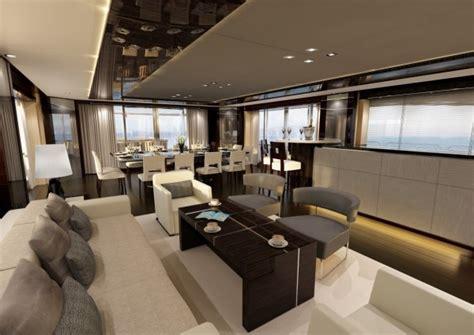 yacht event layout luxury yacht interior design