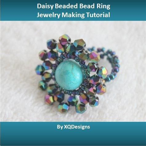 beaded ring patterns beaded bead ring by xqdesigns jewelry pattern