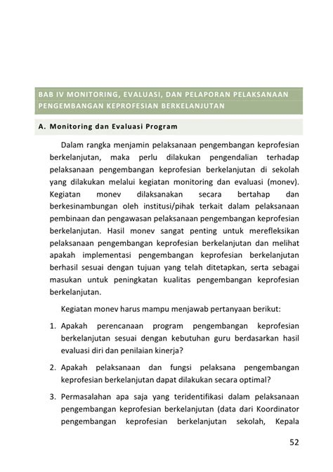 Pengembangan Keprofesian Berkelanjutan Bagi Guru buku 1 pedoman pengelolaan pengembangan keprofesian