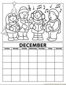december coloring pages new calendar template site