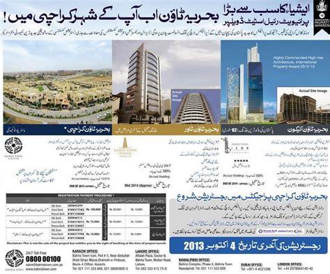 Address Finder Karachi Bahria Town Contact Offices Address For Karachi Housing Autos Post