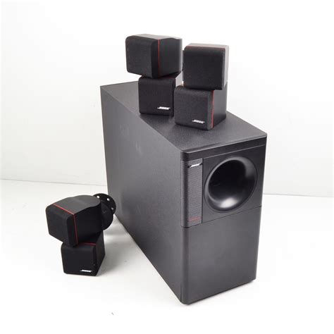 bose acoustimass  home theater speaker system ebay