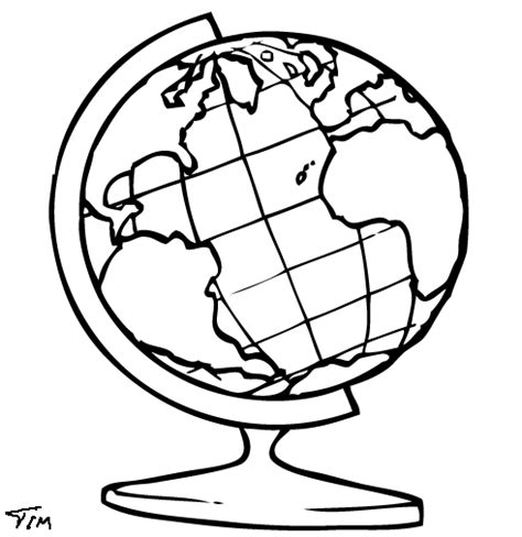 The Globe Theatre Outline by Globe Outline Clipart 39