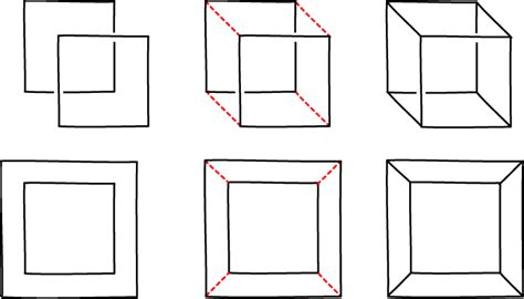 How To Make A 3 Dimensional Cube Out Of Paper - four dimensions