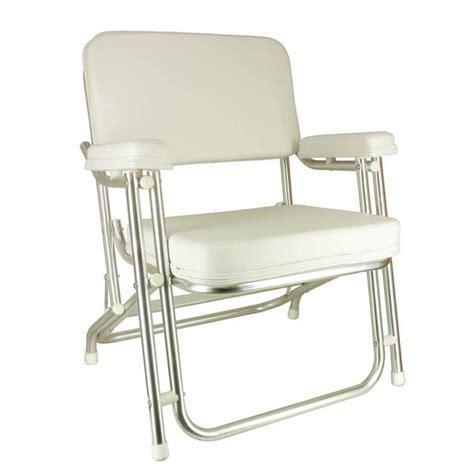 boat deck chairs west marine springfield aluminum folding deck chair west marine