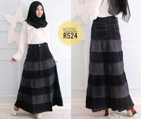 Rok Polos Benang rok ruffle polos r524 baju style ootd