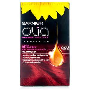 olia colors garnier olia hair dye