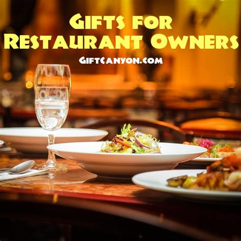 gifts for owners amazing gifts for restaurant owners and restaurateurs gift