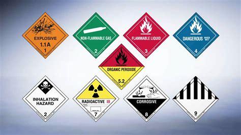 Haz Mat Classes by Dot Hazmat And Hazard Class Labels For All Dangerous Goods
