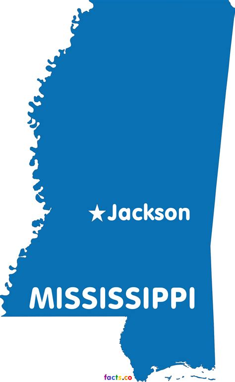 mississippi map blank political mississippi map with cities