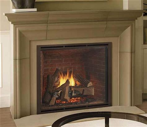 heat glo true  gas fireplace direct vent