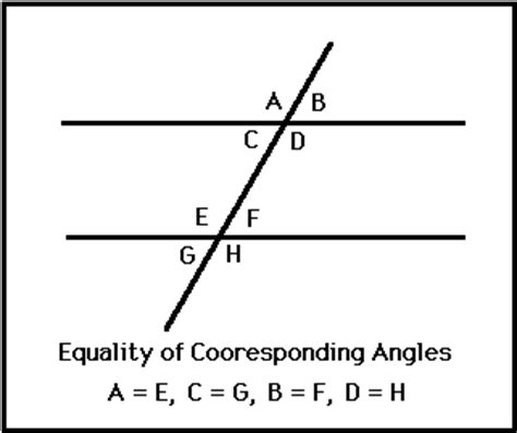 how do you indicate congruent angles in a diagram corresponding angles definition theorem exles
