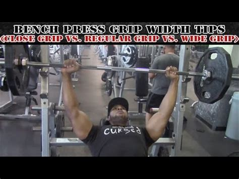 bench press hand width bench press grip width tips close grip vs regular grip