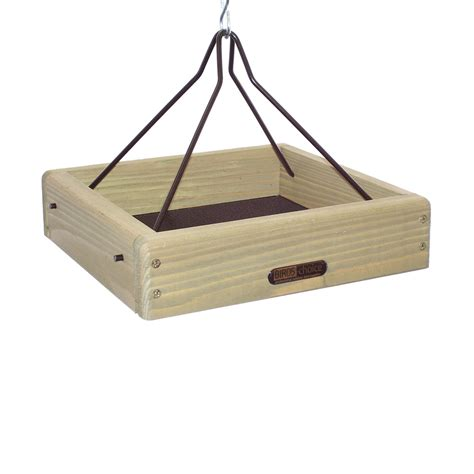 birds choice cchpf125 hanging platform bird feeder atg