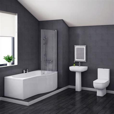 pro  modern shower bath suite   victorian