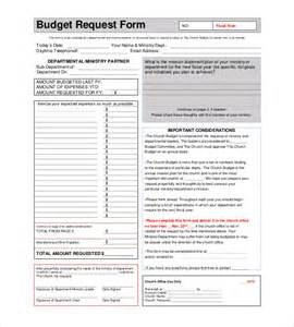 Budget Form Template by Church Budget Template 10 Free Word Excel Pdf