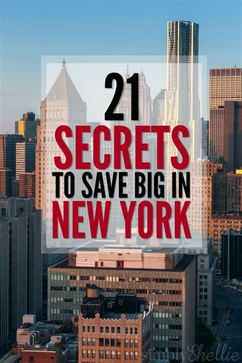 The Banks Show To New York by Tips Tricks Secrets To Save Big In New York City