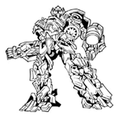 transformers crosshairs coloring page kleurplaat transformers 2561