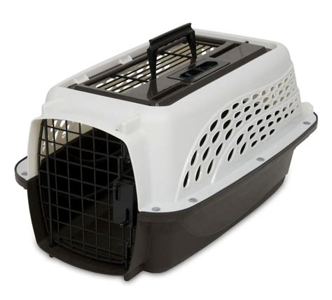 Pet Cargo Kadang Portable 19 quot portable pet carrier 2 doors top load puppy crate cat travel cage porter ebay