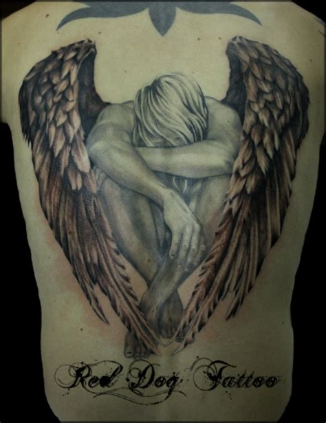 25 tattoo designs fallen angel tattoos