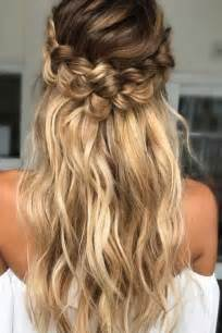 hairstyles that whisps in back and in the front 25 best ideas about straight wedding hair on pinterest