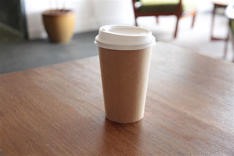 coffe cups world first bioplastic solution to growing coffee cup