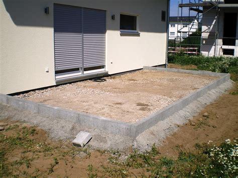terrasse bauen stein kosten terrasse bauen anleitung stein au entreppe aus