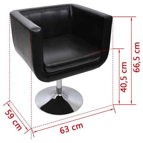 sedie nere moderne set 2 sedie regolabili moderne cromo nere vidaxl it