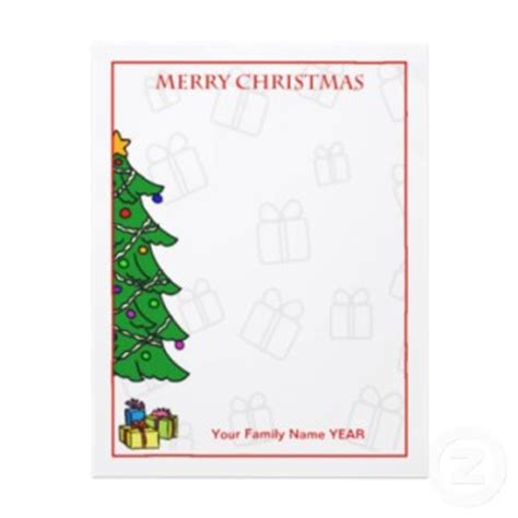 choosing the perfect christmas letterhead paper for your